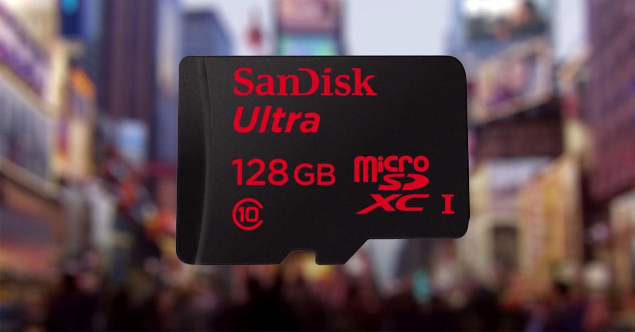 Tarjeta microSD de SanDisk