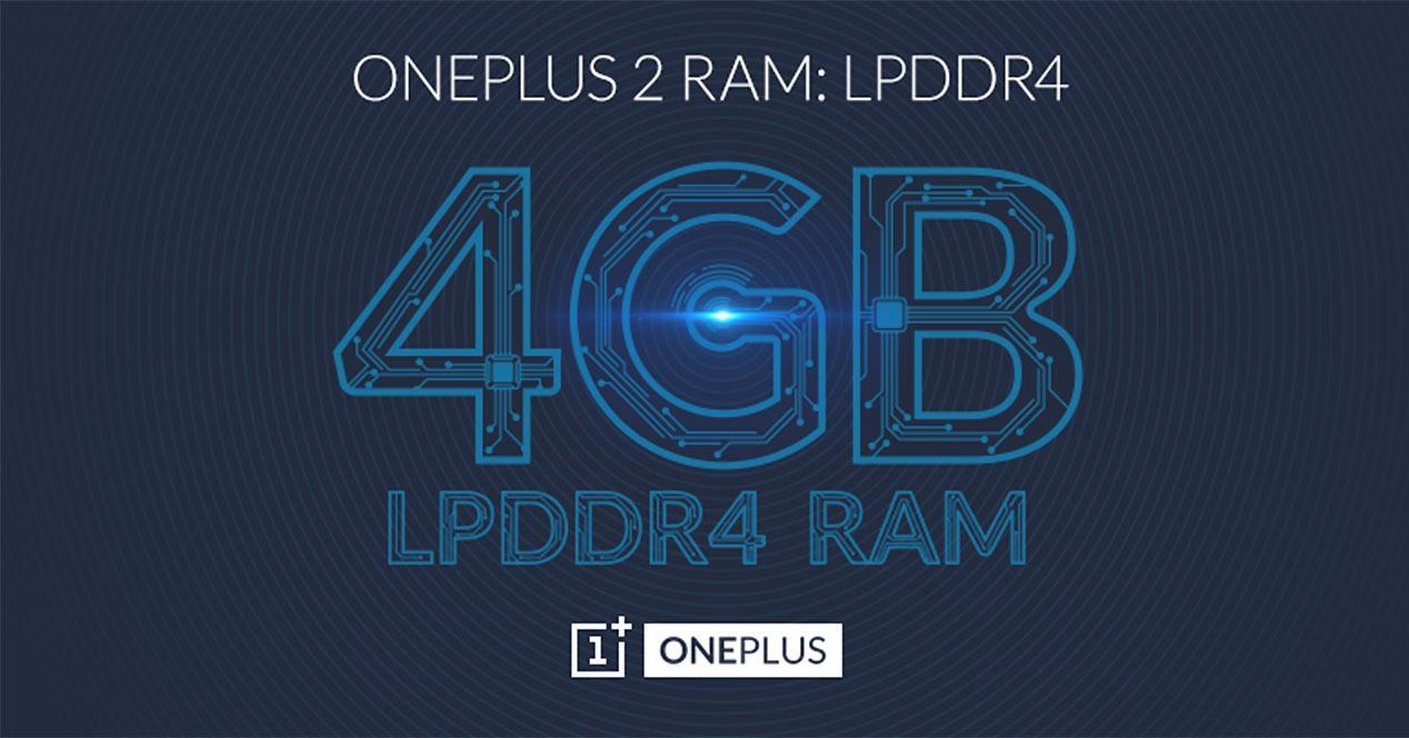 Memoria RAM DDR4 para el OnePlus 2