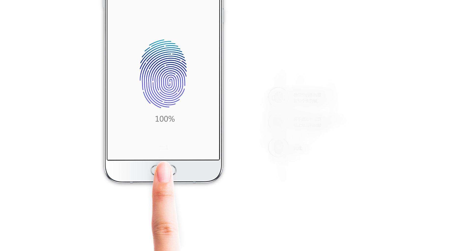 Samsung Galaxy A8 reconocimiento de huella dactilar