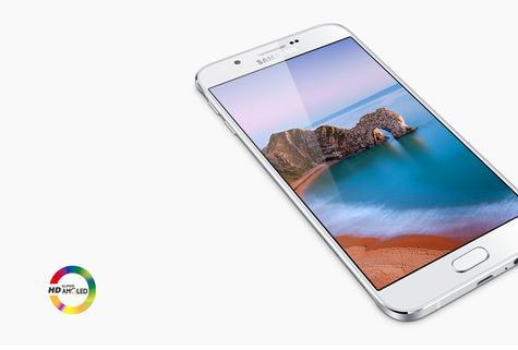 Samsung Galaxy A8 con pantalla AMOLED