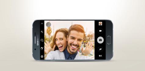 Samsung Galaxy A8 modo seflie