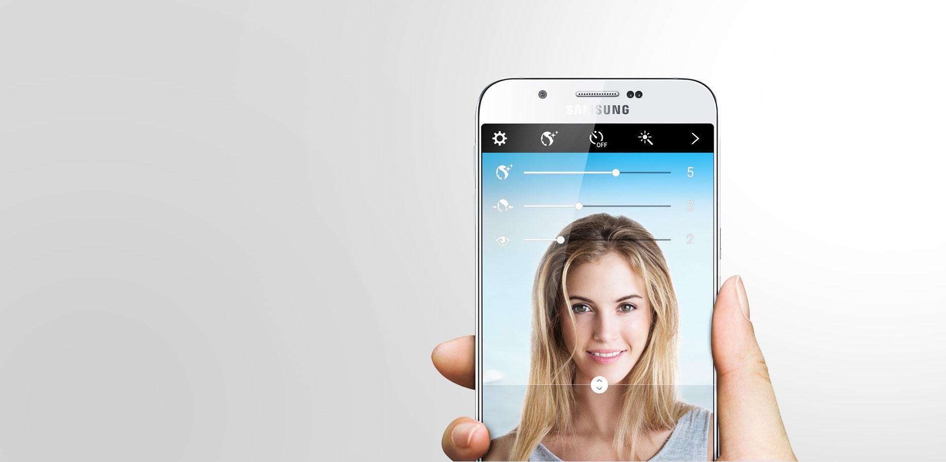 Samsung Galaxy A8 lifestyle