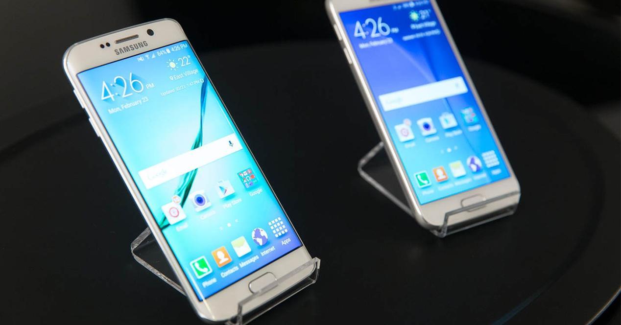 Familia smartphones Samsung Edge