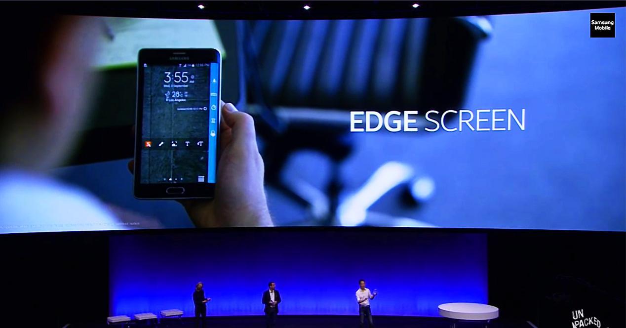 Evento de presentacion de Samsung