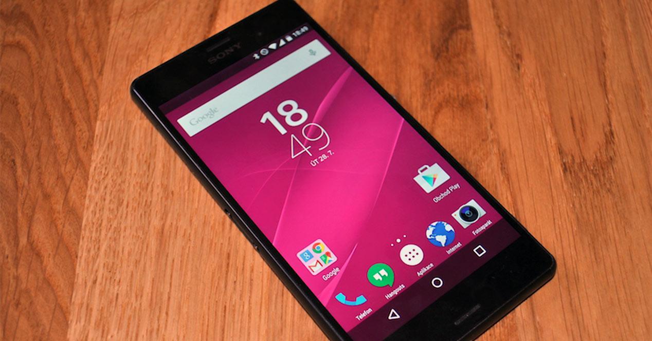 Sony Xperia Z3 con Android AOSP