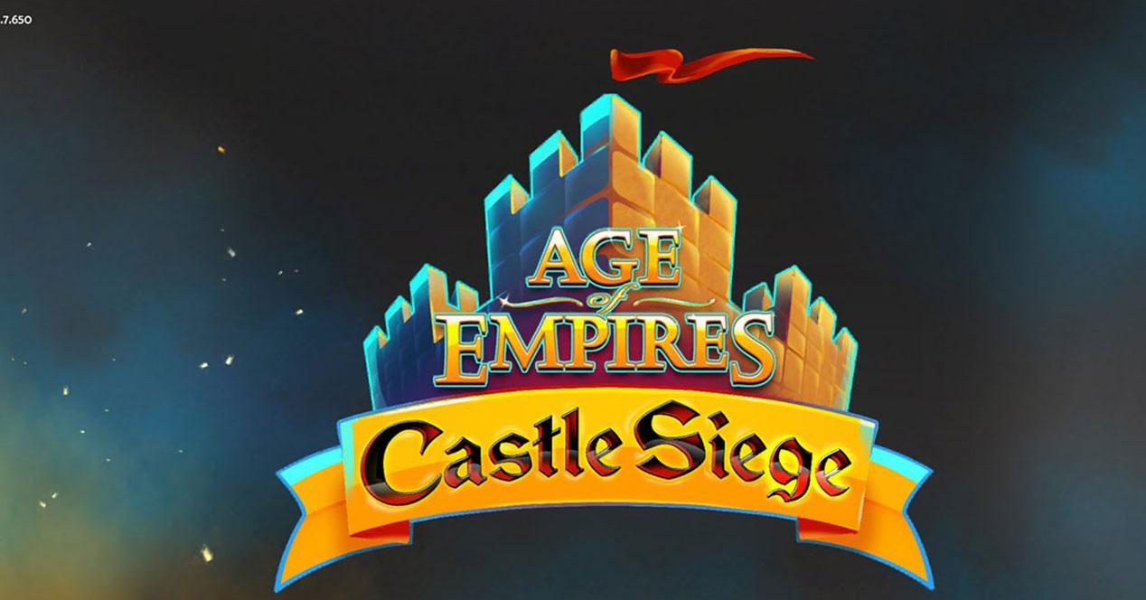 Age of empires Castle Siege para iOS