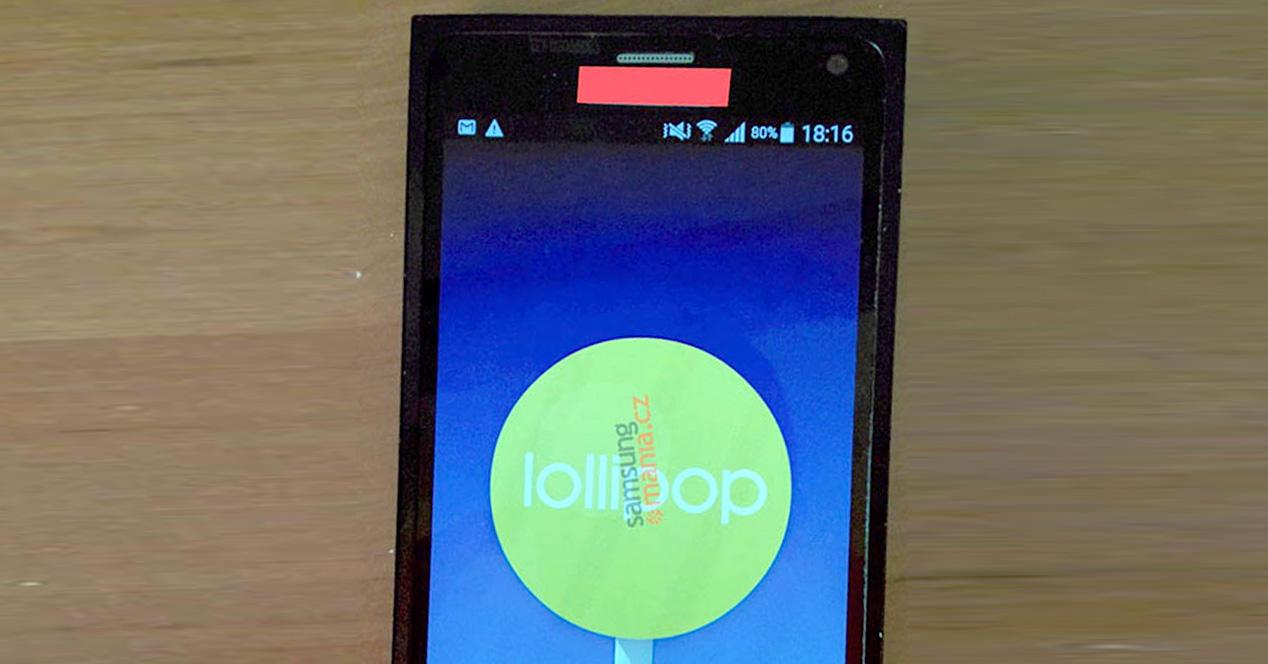 Galaxy Note 5 de Samsung.
