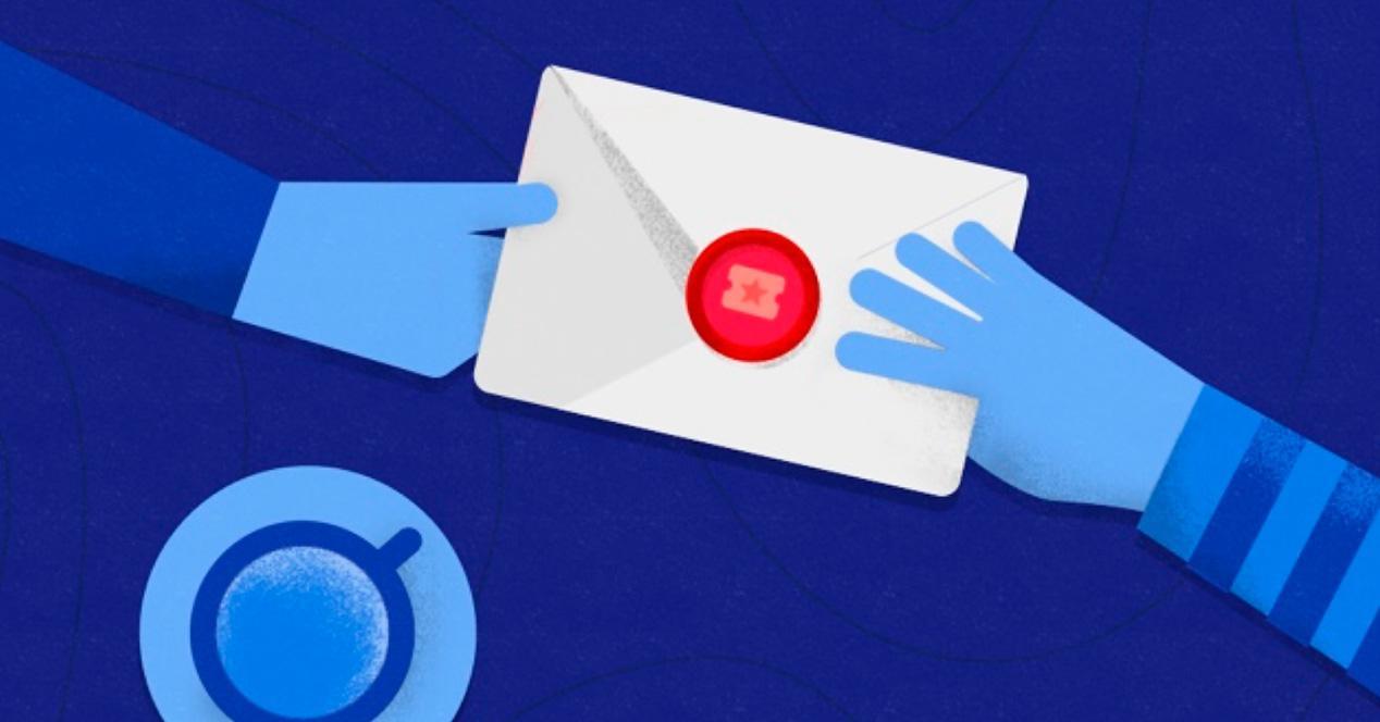 Inbox de Gmail.