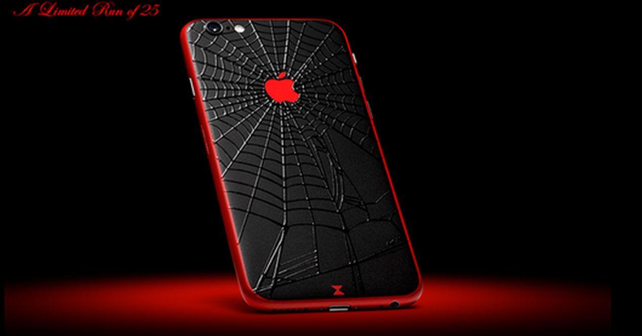 iPhone 6 Black Widow de colorware