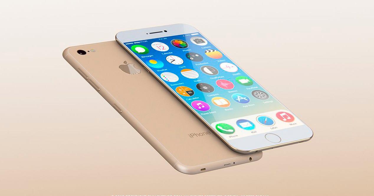 Apple patente iPhone 7 recarga batería.