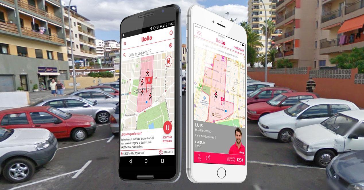 app llollo en iphone y android
