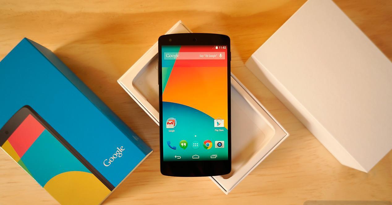 Nexus 5 2013 de Google.
