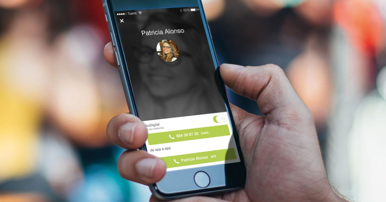 Tuenti VOZDIGITAL en el iPhone 6