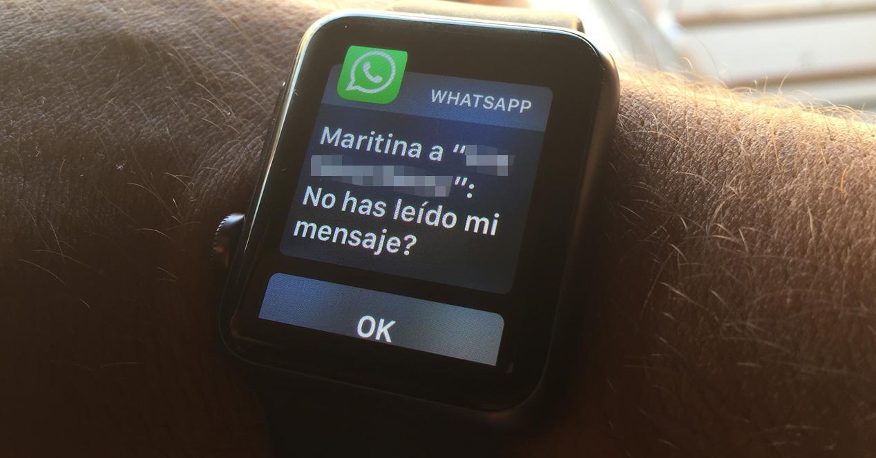 WhatsApp para iOS con Apple Watch.