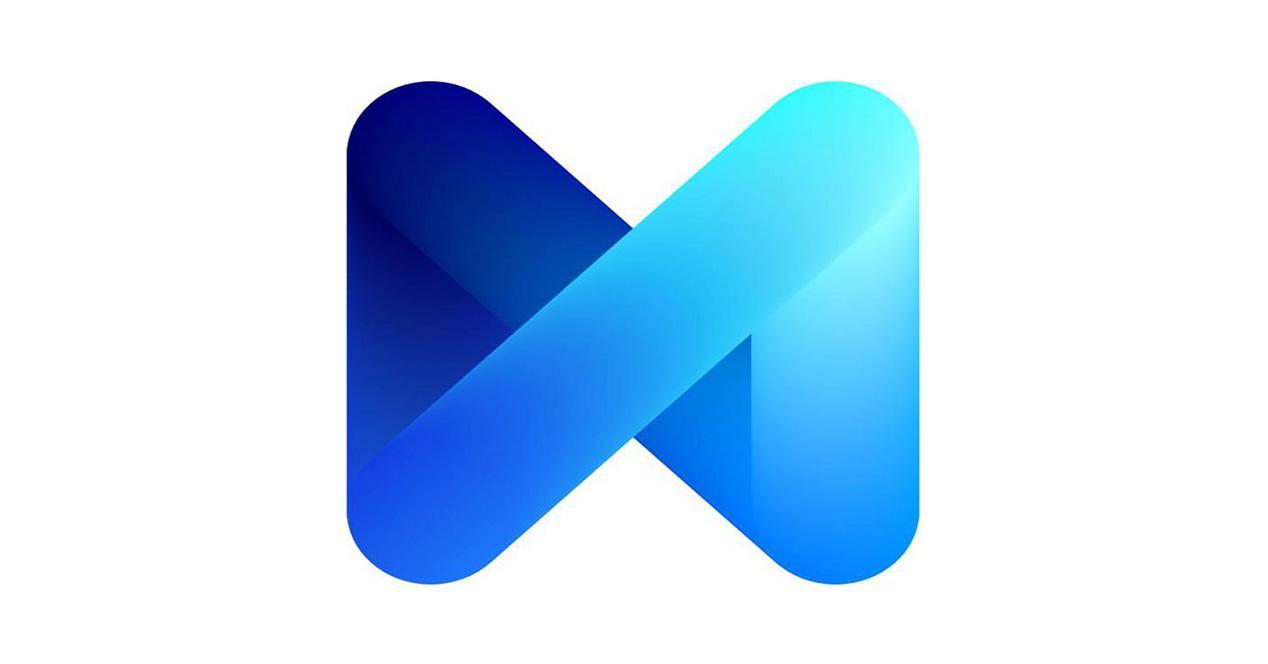 Logo de Facebook M