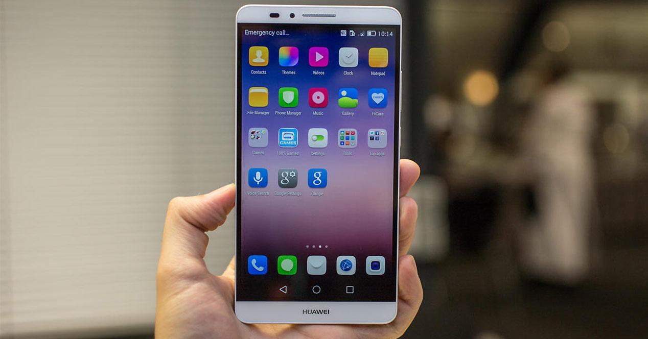 Diseño general del Huawei Ascend Mate 7
