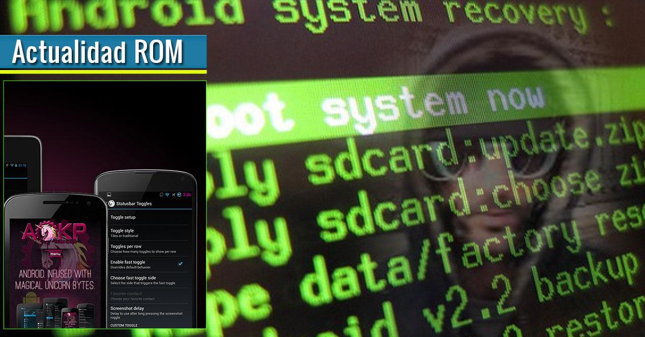 ROM AOKP y código fuente
