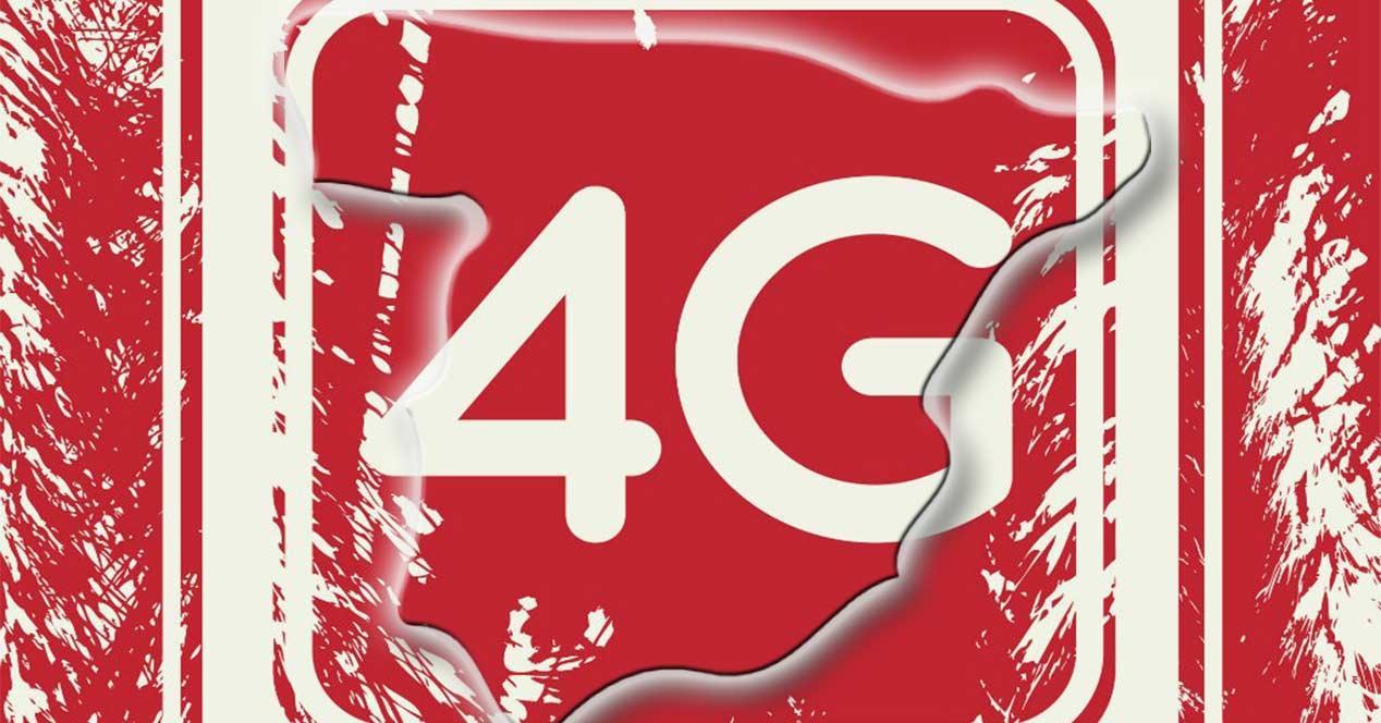 Mapa de cobertura 4G