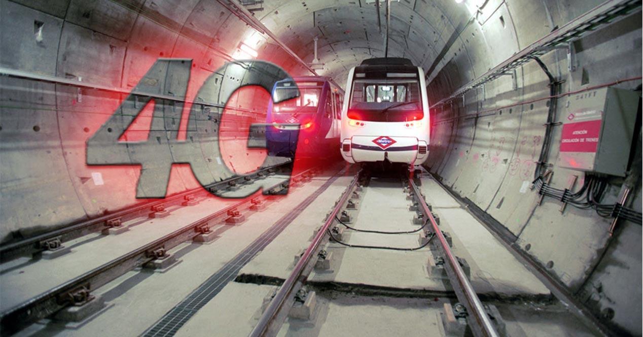 Metro de Madrid con 4G