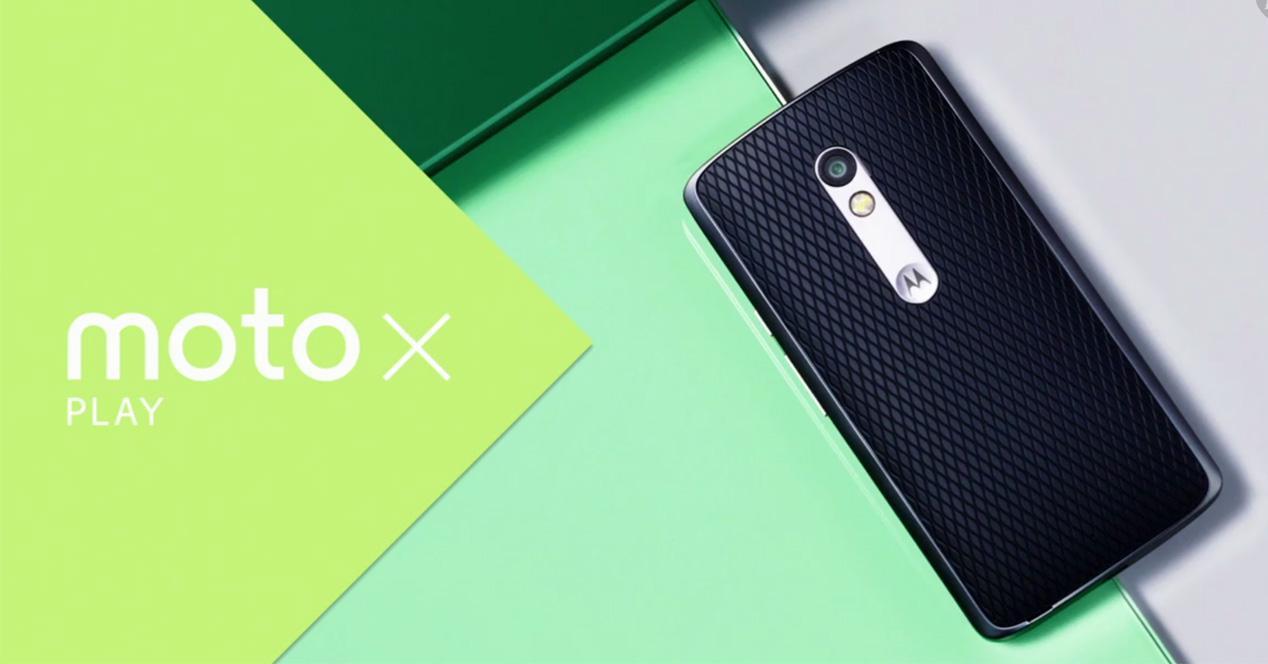Carcasa trasera del Motorola Moto X Play
