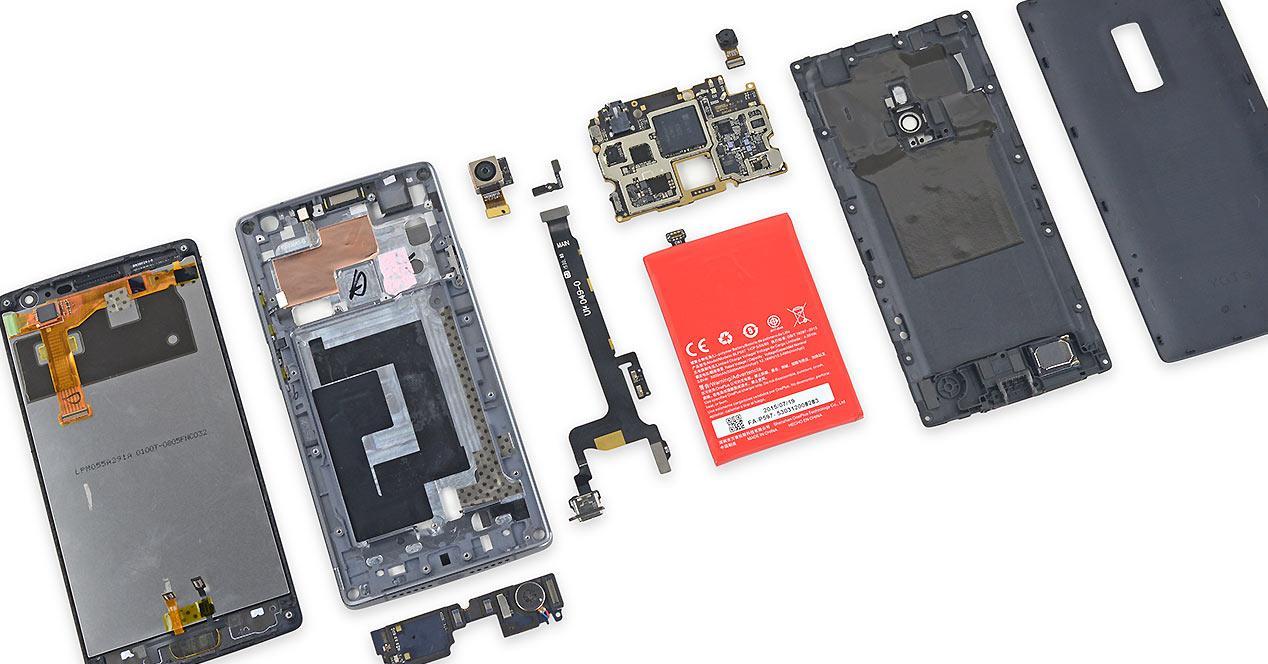 Desmontaje del OnePlus 2