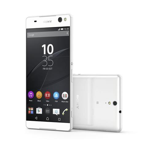 Sony Xperia C5 Ultra en color blanco