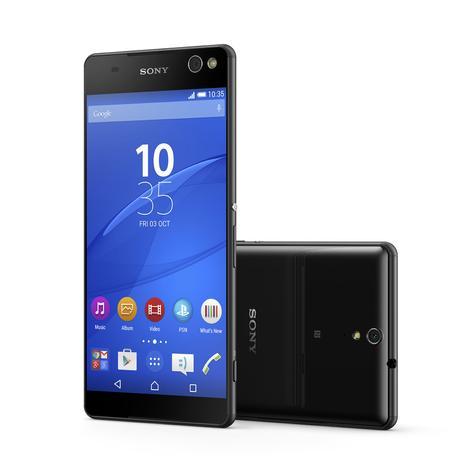 Sony Xperia C5 Ultra en color negro