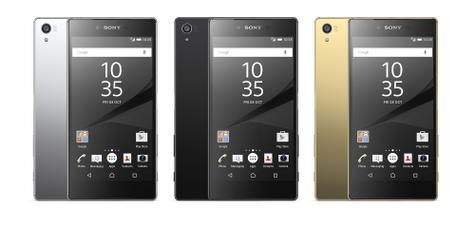 Sony Xperia Z5 negro, gris y oro