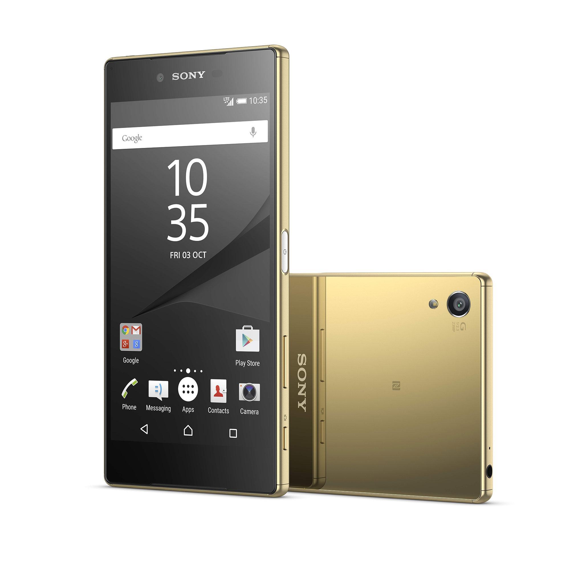 Sony Xperia Z5 Premium en color oro