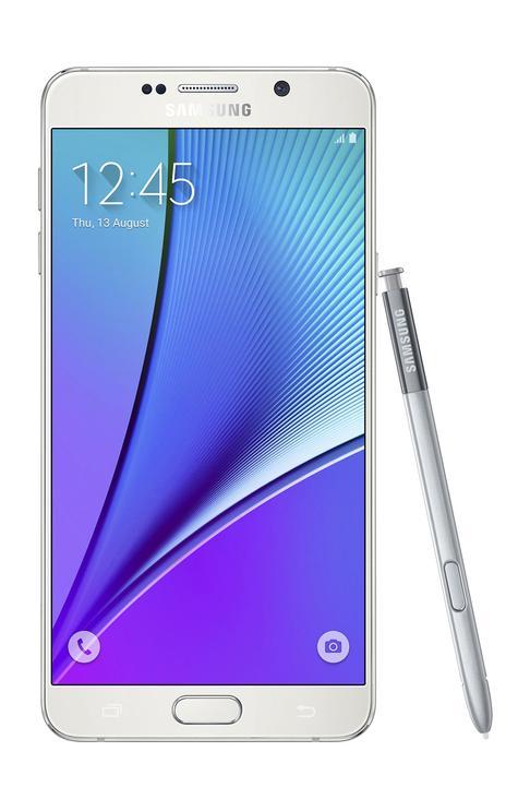 Samsung Galaxy Note 5 blanco
