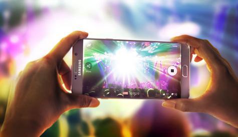 Samsung Galaxy Note 5 pantalla modo cámara