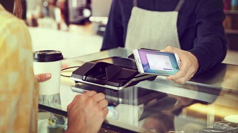Samsung Galaxy Note 5 con Samsung Pay