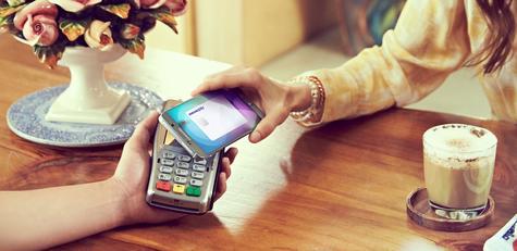 Samsung Galaxy Note 5 pago electróncico