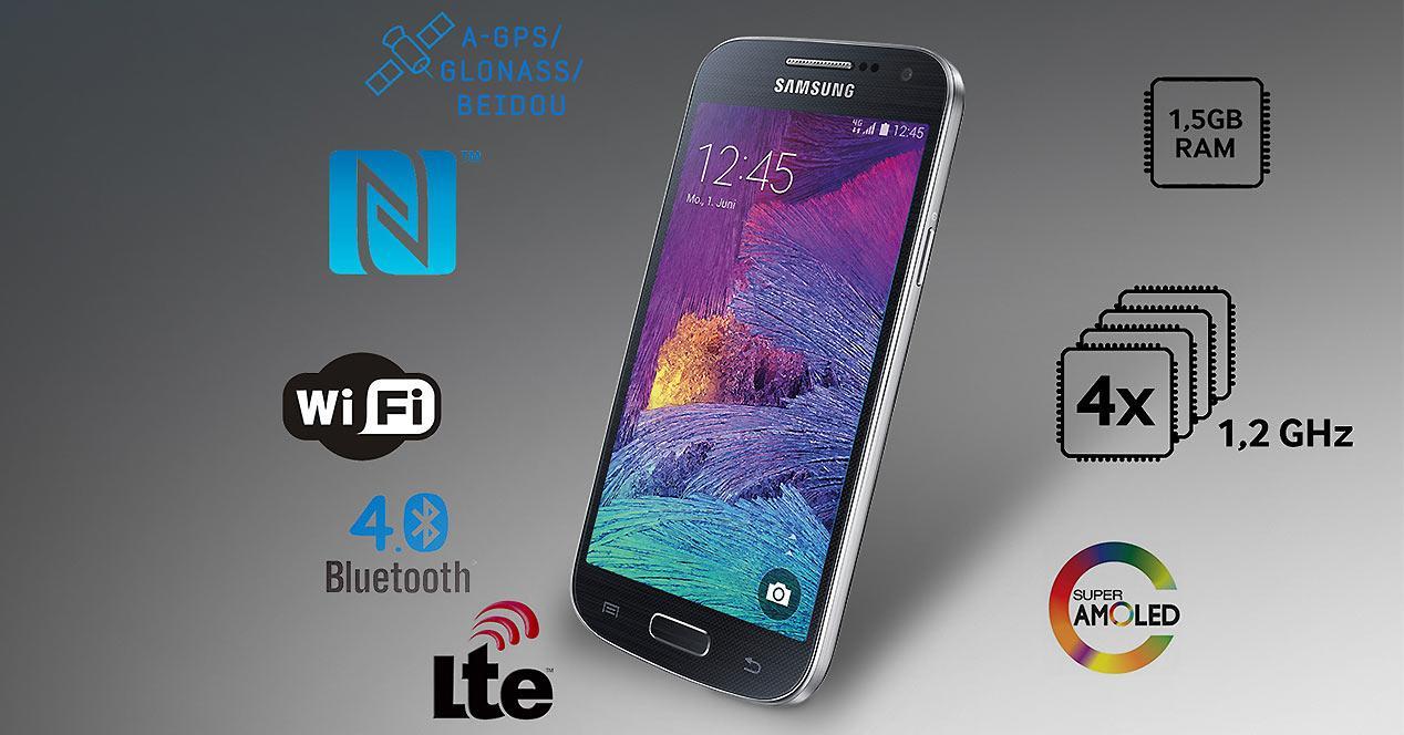 Especificacione del Samsung Galaxy S4 Mini Plus