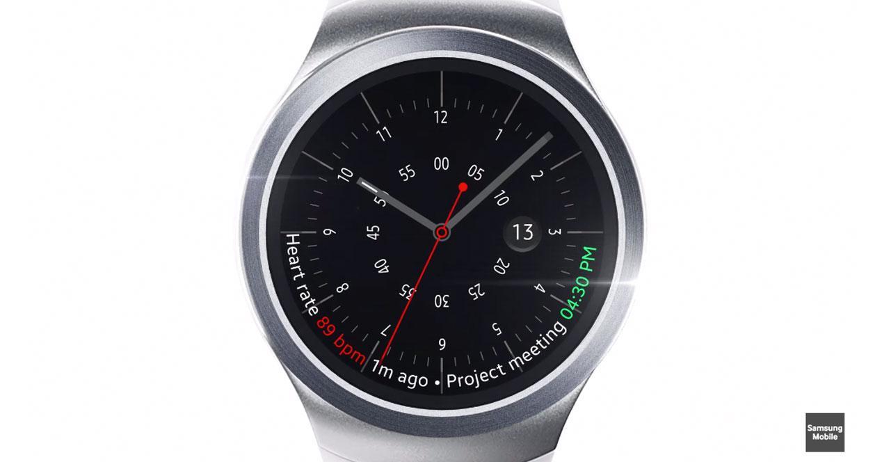 Samsung Gear S2 corona reloj