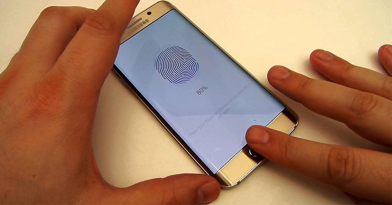 Sensor de huellas del Samsung Galaxy S6
