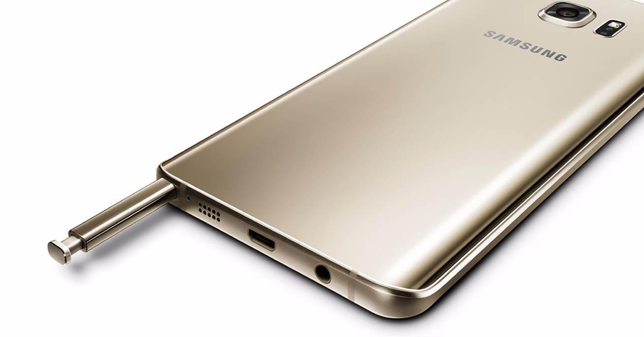 Samsung Galaxy Note 5 S Pen dorado