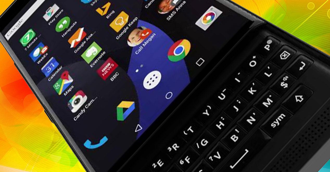Blackberry Venice frontal