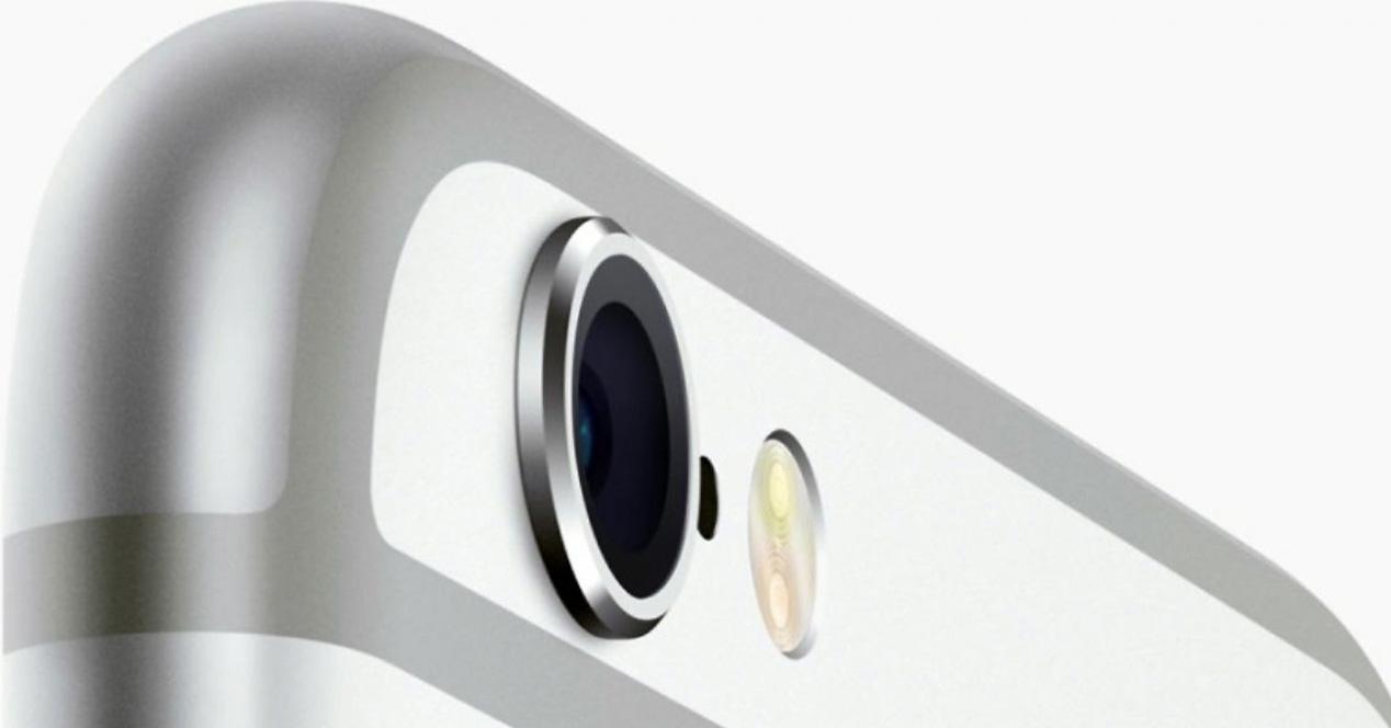 Camara trasera del iPhone 6s