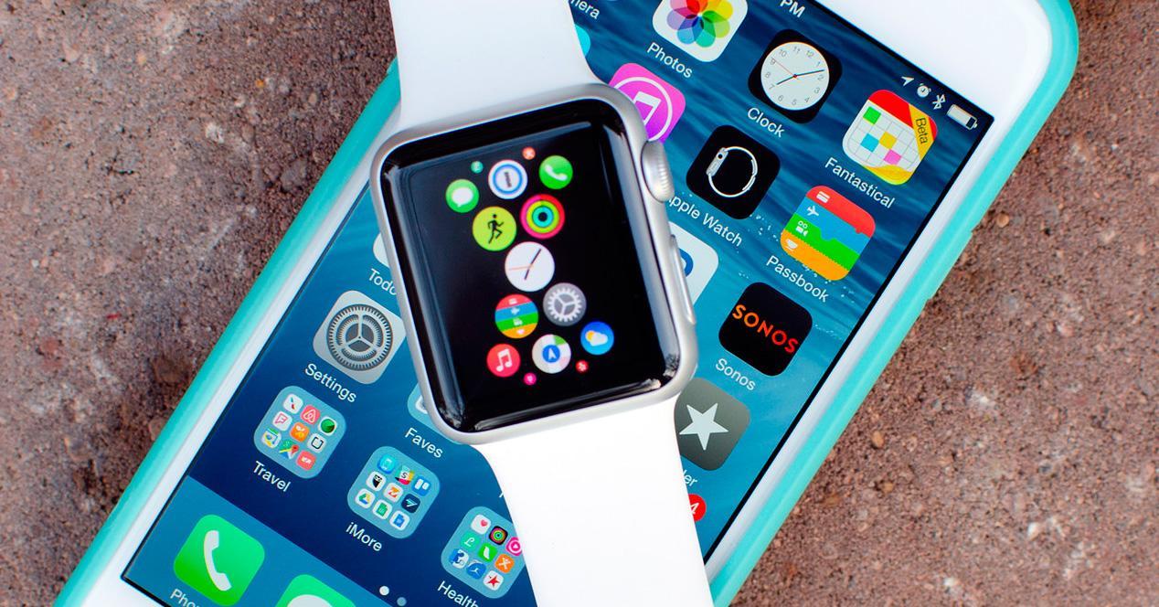 Apple Watch e iPhone 6s.