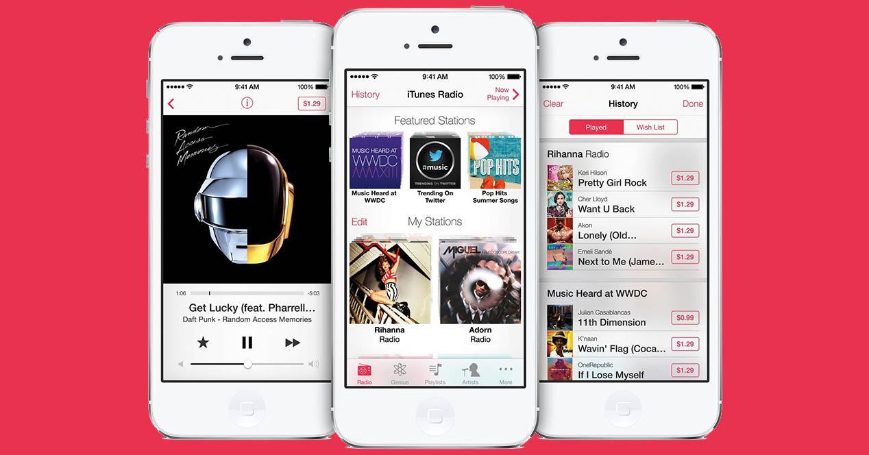 iPhone borrar música