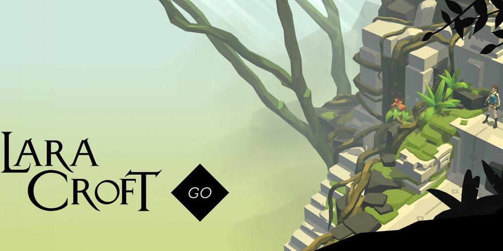 Imagen oficial de Lara Croft GO