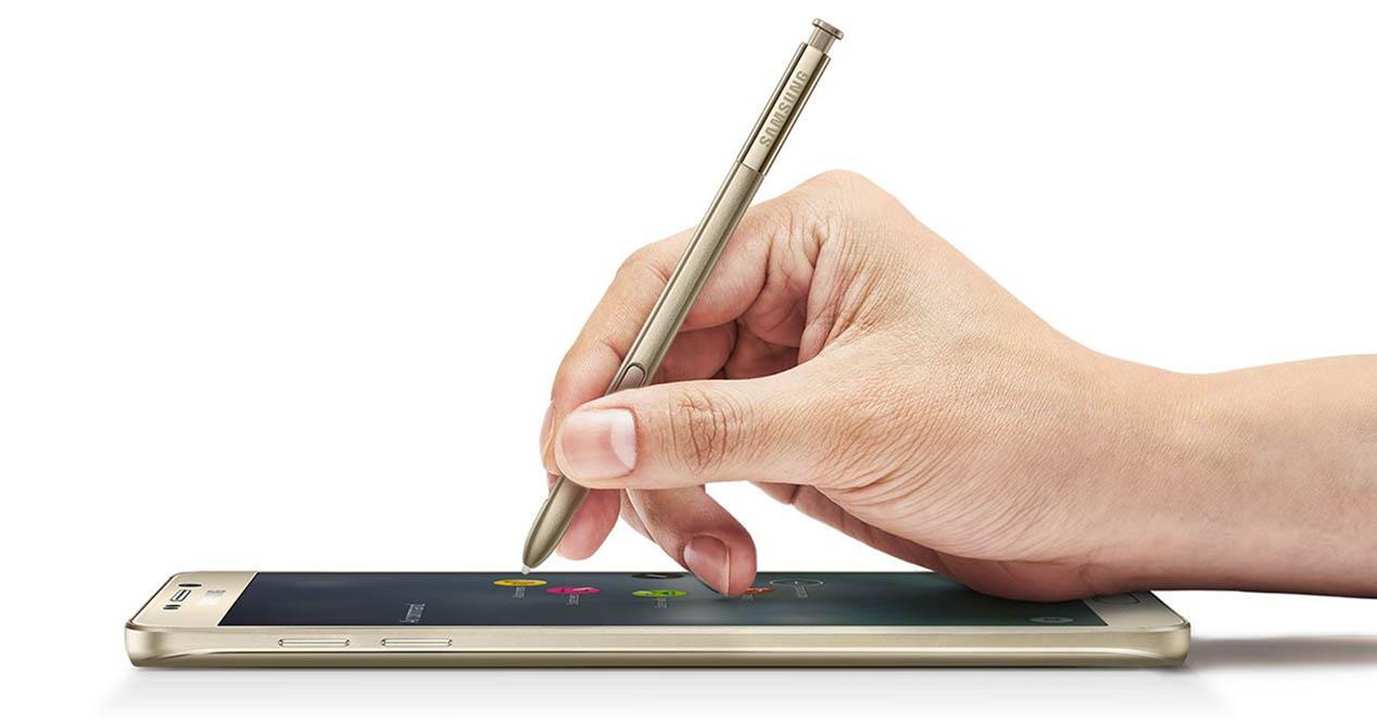 Galaxy Note 5 mano portada