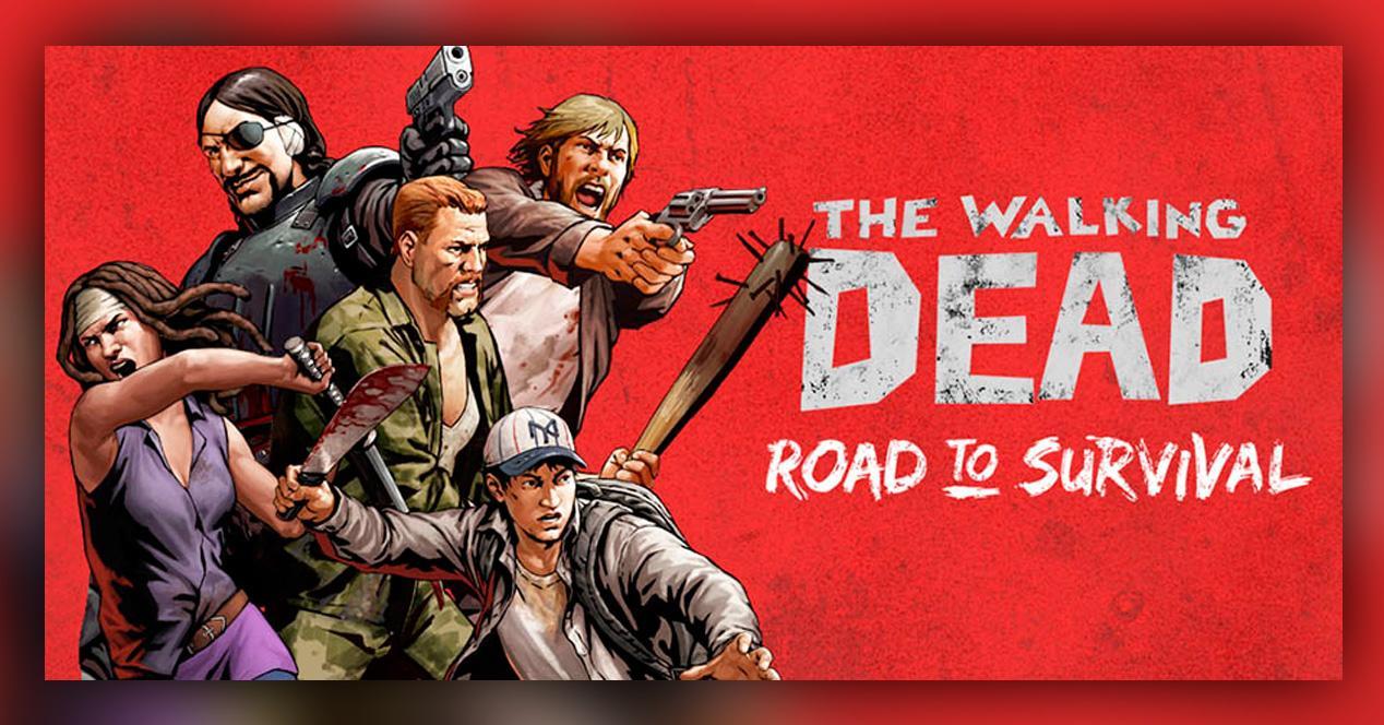 The Walking Dead Road to Survival para iOS y Android.