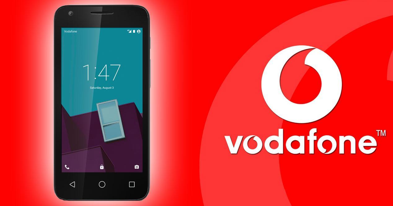 Vodafone Smart Speed 6 logo vodafone
