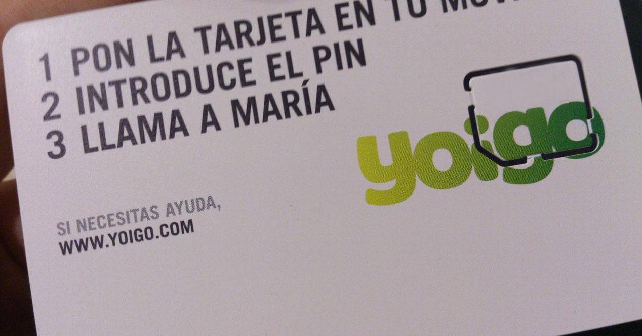 Yoigo SIM