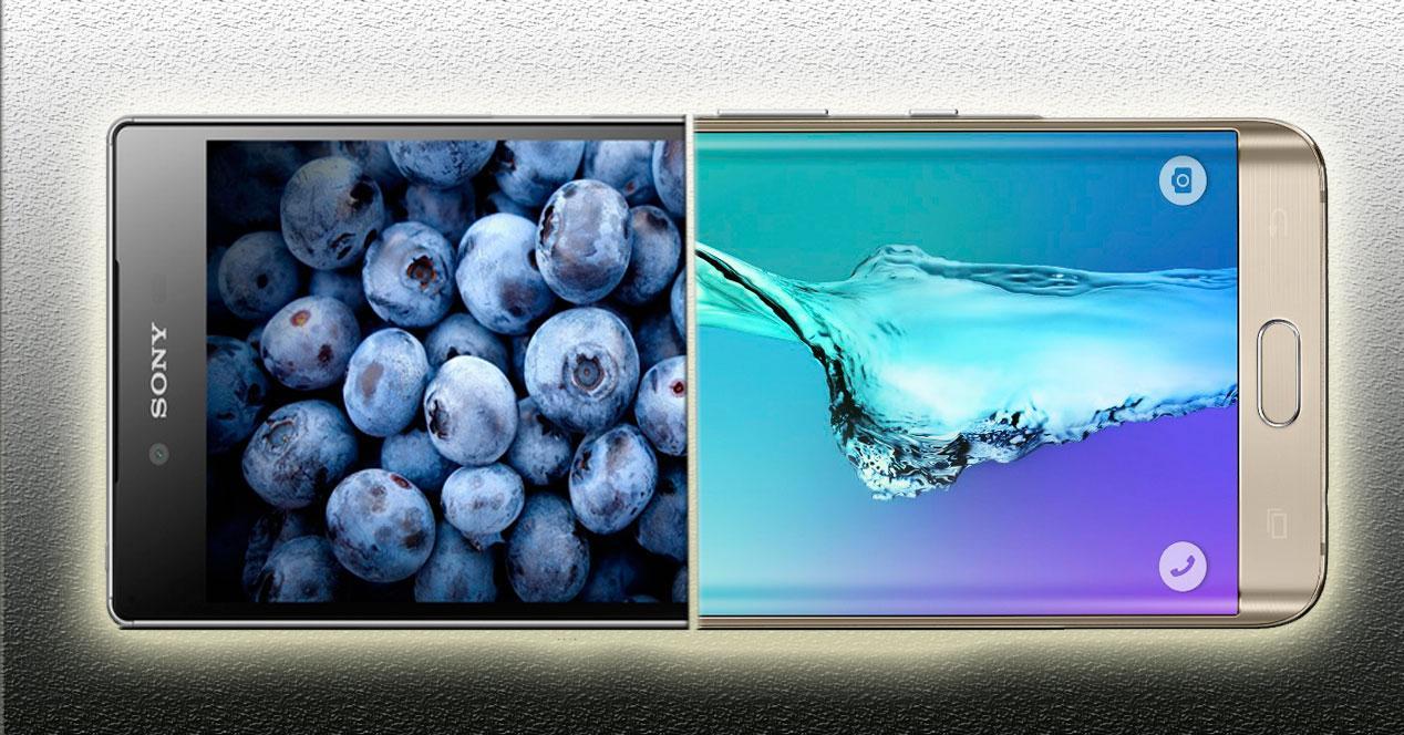 Comparativa-Xperia-Z5-Premium-Galaxy-S6-Edge+