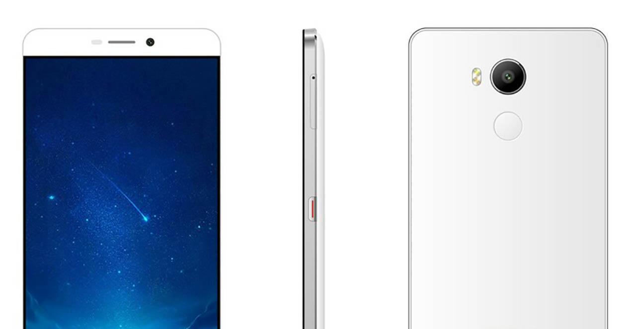 Elephone P9000 portada blanco