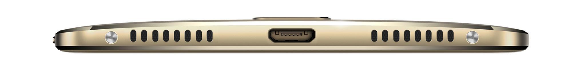 Huawei Mate S vista de los altavoces y conector