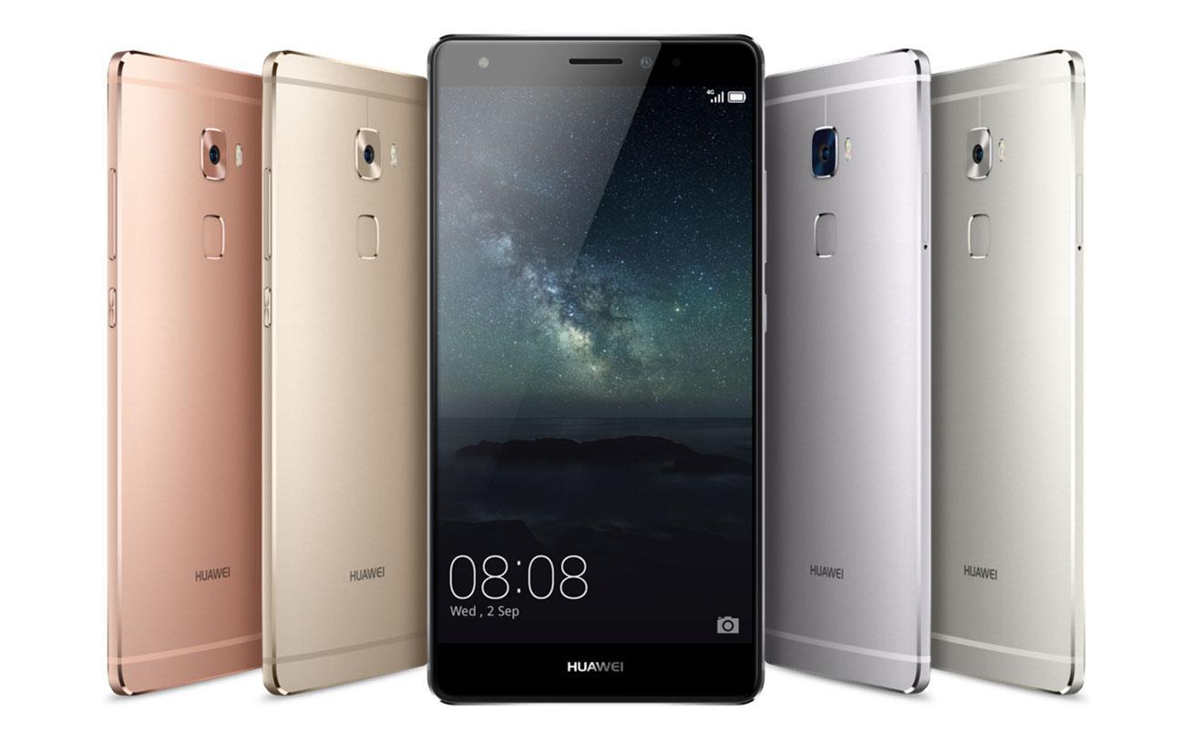 Huawei Mate S en varios colores